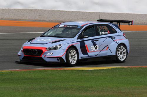 Hyundai i30 N TCR pruebas Valencia