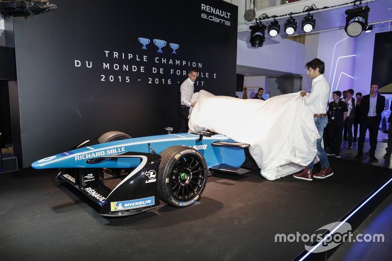 Sebastien Buemi y Nicolas Prost, Renault eDAMS