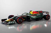 Aston Martin Red Bull Racing con decoración fantasy