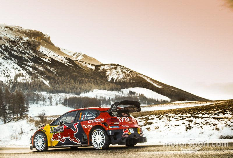 Себастьян Ож'є, Жюльєн Інграссія, Citroën World Rally Team Citroen C3 WRC