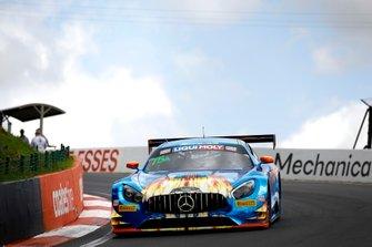 #75 SunEnergy1 Racing Mercedes AMG GT GT3: Kenny Habul, Dominik Baumann, Thomas Jäger