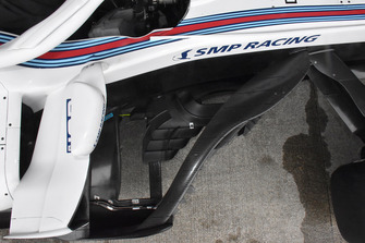Williams FW41, bargeboard