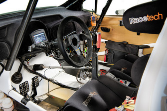 Detalle interior del Toyota Yaris AP4