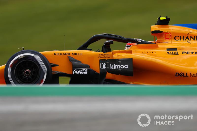 20: Stoffel Vandoorne, McLaren MCL33: 1:09.601