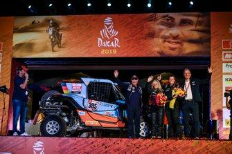 Подіум: SxS Racing4Charity-Team Face ALS: Аннетт Фішер, Андреа Петрансель