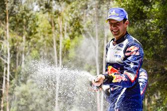 El campeón del mundo 2018: Sébastien Ogier, M-Sport Ford