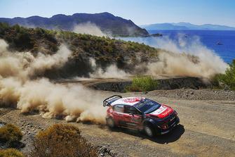 Khalid Al Qassimi, Chris Patterson, Citroën World Rally Team Citroën C3 WRC