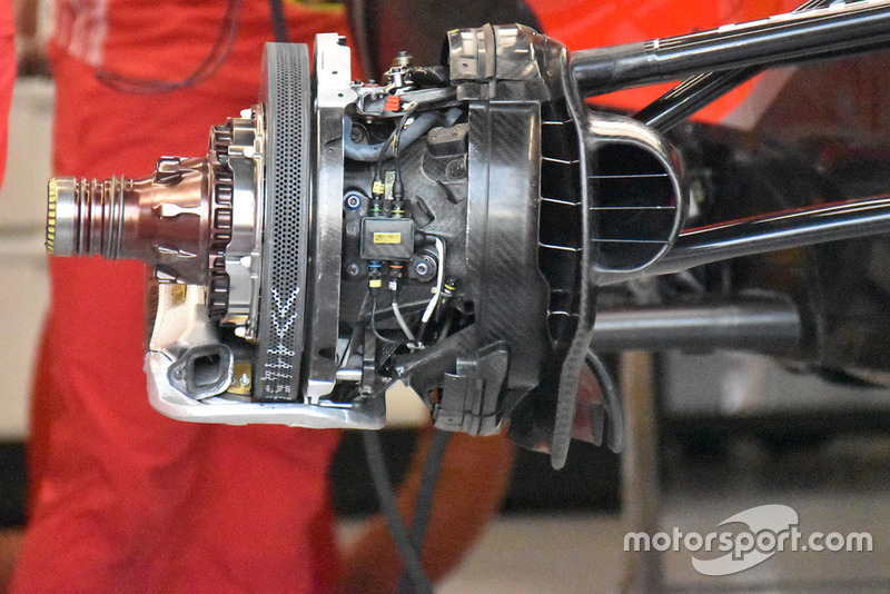 Ferrari remconfiguratie