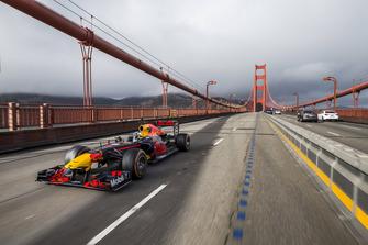 Daniel Ricciardo, Red Bull Racing, a San Francisco