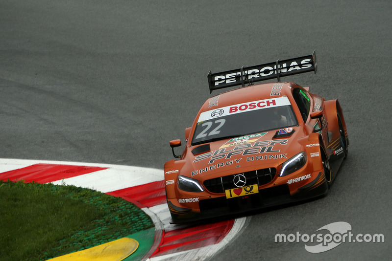 18. Lucas Auer, Mercedes-AMG Team HWA, Mercedes-AMG C63 DTM