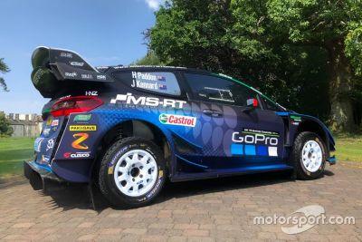 Paddon Ford Fiesta WRC