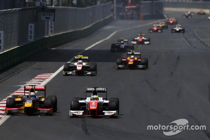 Antonio Giovinazzi, PREMA Racing & Oliver Rowland, MP Motorsport