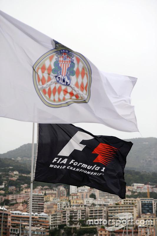 Un drapeau F1