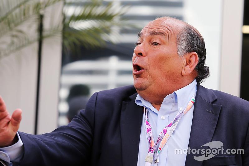 أنطونيو بيريز والد سيرجيو بيريز، فورس انديا