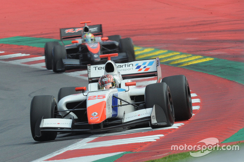 Yu Kanamaru, Teo Martin Motorsport