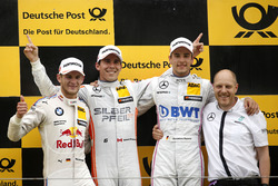 Podium: Race winner Robert Wickens, Mercedes-AMG Team HWA, Mercedes-AMG C63 DTM; second place Marco Wittmann, BMW Team RMG, BMW M4 DTM; third place Christian Vietoris, Mercedes-AMG Team Mücke, Mercedes-AMG C63 DTM