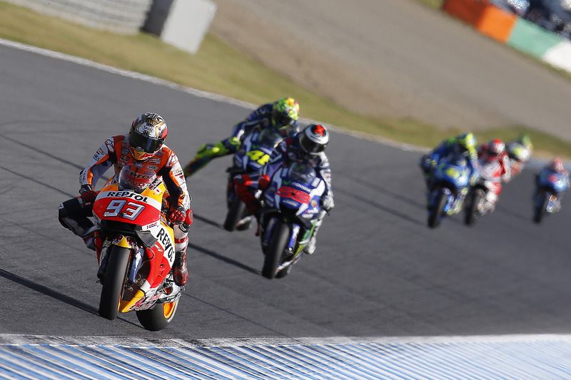 Marc Marquez, Repsol Honda Team, Jorge Lorenzo, Yamaha Factory Racing, Valentino Rossi, Yamaha Facto