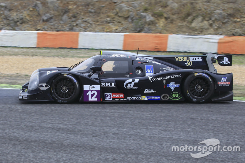 #12 Eurointernational Ligier JSP3 - Nissan: Rik Breuke, Andrea Dromedari, Dreher