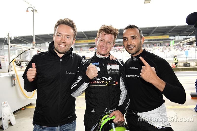 Polesitter GTE AM Class: #88 Proton Racing Porsche 911 RSR: Khaled Al Qubaisi, David Heinemeier Hansson, Patrick Long