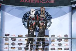Ganadores de la carrera Class ST #56 Murillo Racing Porsche Cayman: Jeff Mosing, Eric Foss