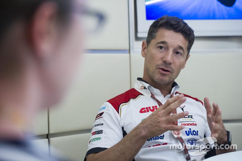 لوسيو سيتشينيلو، فريق إل سي أر هوندا