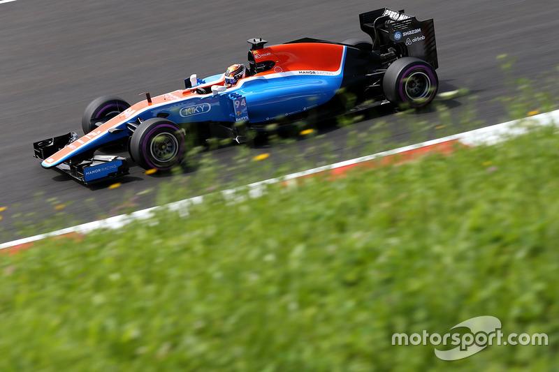 11: Pascal Wehrlein, Manor Racing