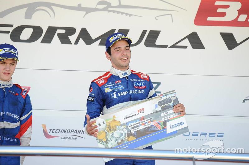 Podium: 1. Matevos Isaakyan, SMP Racing