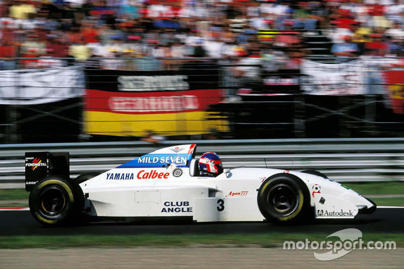 Ukyo Katayama, Tyrrell Yamaha 022