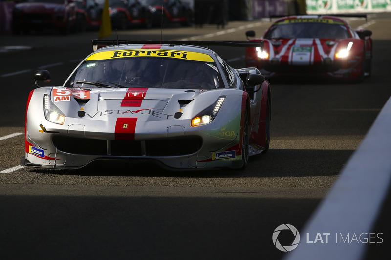 Giancarlo Fisichella: #54 Spirit of Race Ferrari 488 GTE