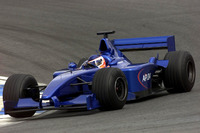 Gaston Mazzacane continues to test the Prost AP.04