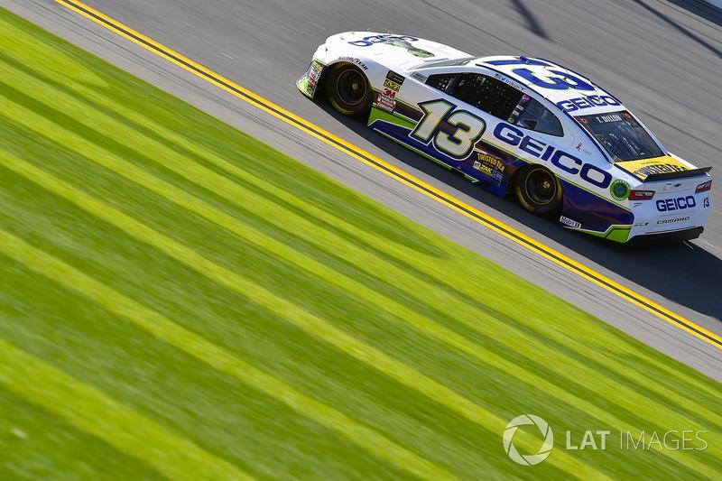 Crash: Ty Dillon, Germain Racing, Chevrolet