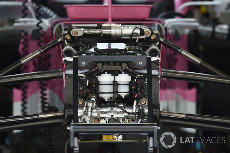 Force India VJM11 chassis detail