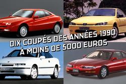 Coupés des années 90