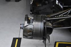 Renault Sport F1 Team R.S. 18, dettaglio del cestello del freno anteriore