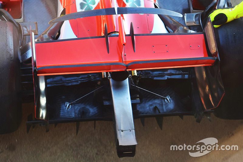 Ferrari SF71H: Diffusor