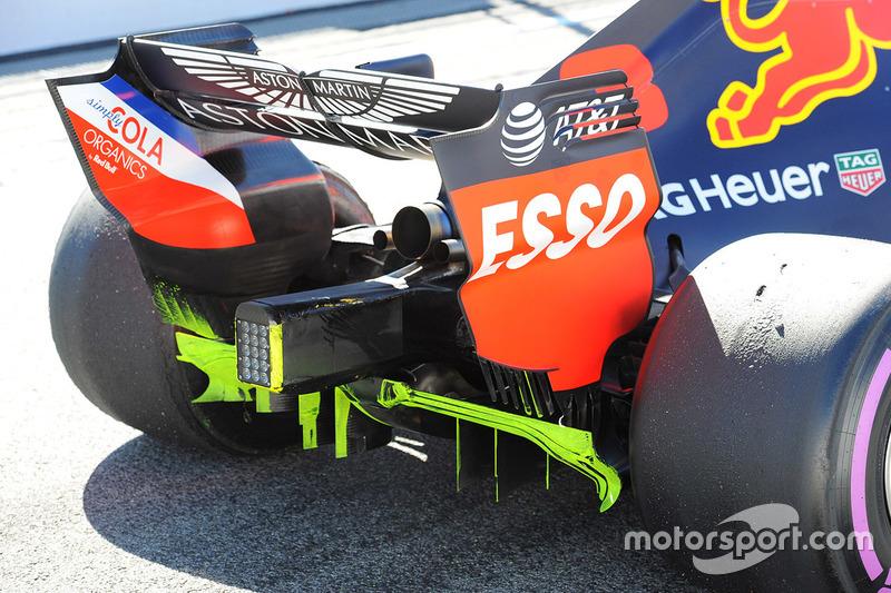 Red Bull Racing RB14, hátsó részlet