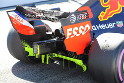 Red Bull Racing RB14 rear detail