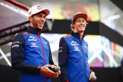Pierre Gasly, Toro Rosso ve Brendon Hartley, Toro Rosso