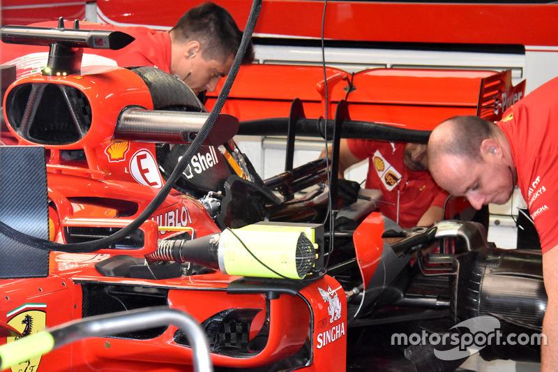 Двигун Ferrari SF71H