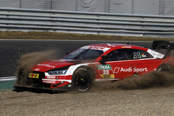 René Rast, Audi Sport Team Rosberg, Audi RS 5 DTM in the gravel