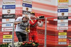 Podium: #8 Octane 126 Ferrari 488: Fabio Leimer