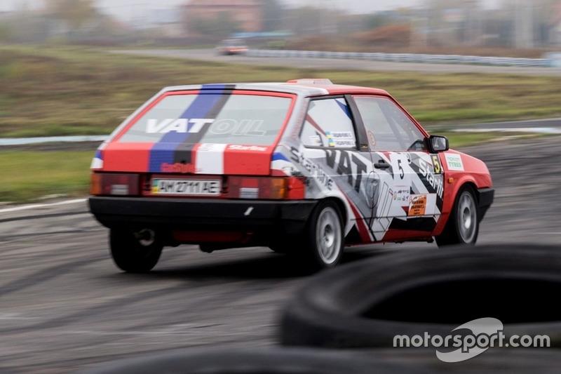 Олег Гайдамаченко - гонка
