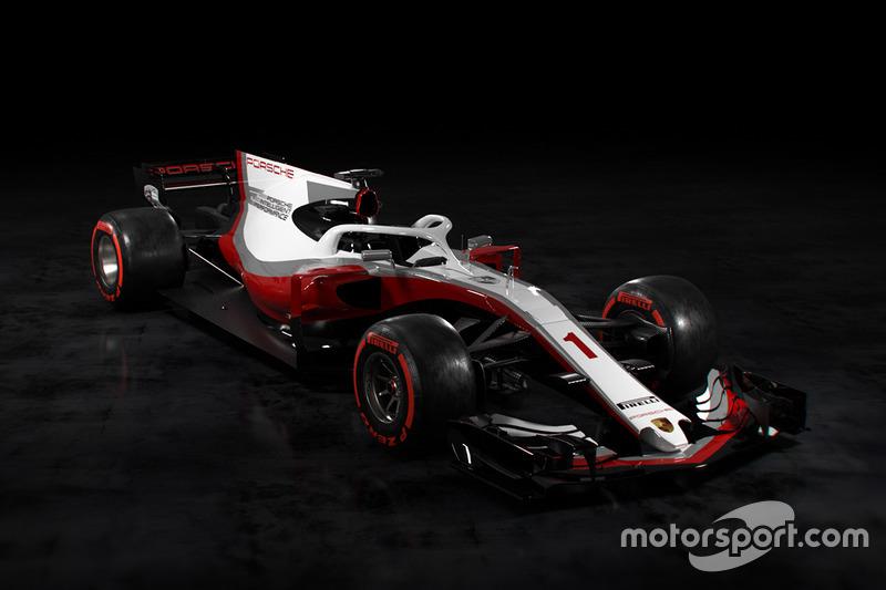 Концепт ливреи Porsche для Ф1