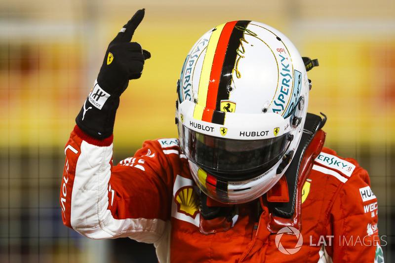 1. Себастьян Феттель, Ferrari — 50