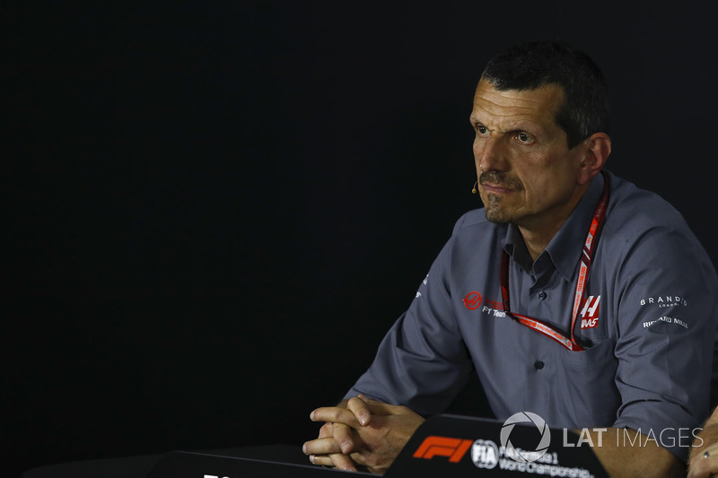 Guenther Steiner, Haas F1 Team Principal in the Press Conference