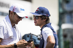 Esteban Ocon, Force India e Lance Stroll, Williams Racing