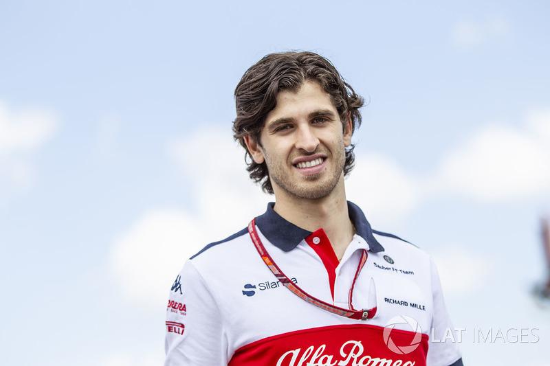 Nieuwkomer in 2019: Antonio Giovinazzi (Italië)