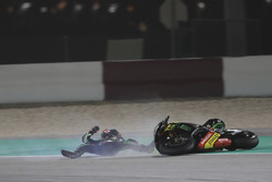 Carsh of Johann Zarco, Monster Yamaha Tech 3