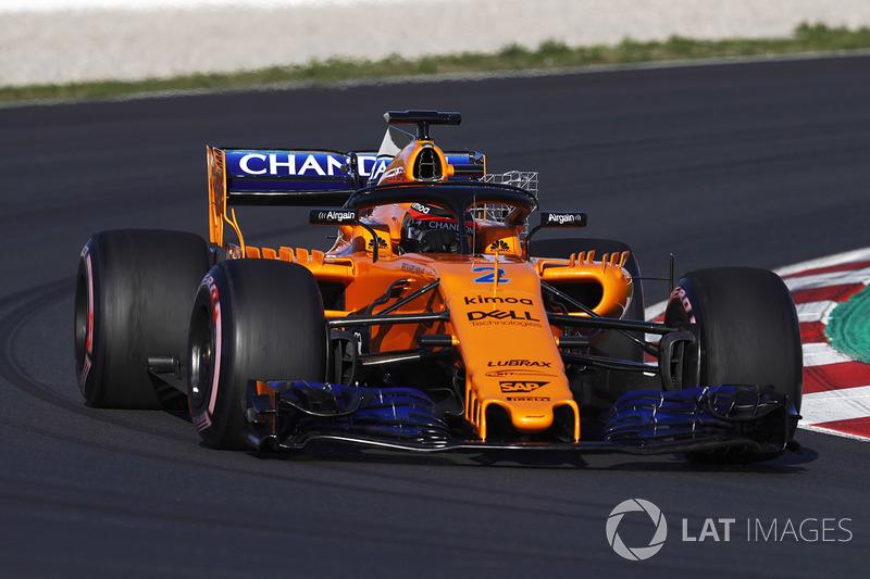 McLaren MCL33: Sensoren