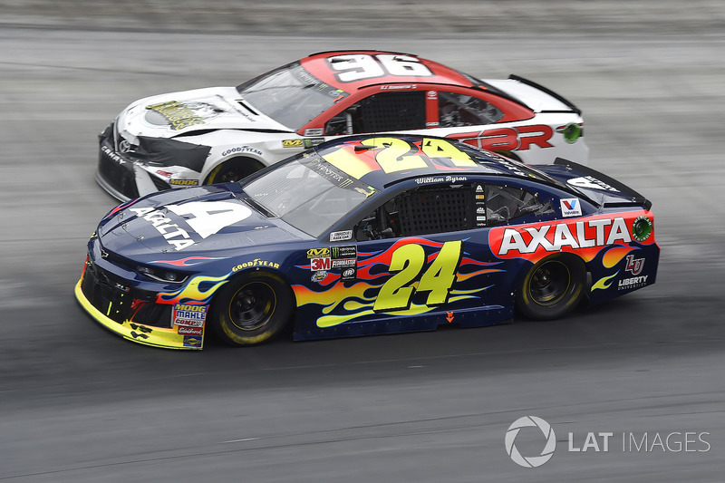 William Byron, Hendrick Motorsports, Chevrolet Camaro AXALTA, D J Kennington, Gaunt Brothers Racing, Toyota Camry, Gaunt Brothers Racing